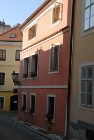 Houses on the way to Prague Castle
