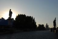Charles Bridge at sunrise