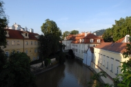 Vlatava River at sunrise