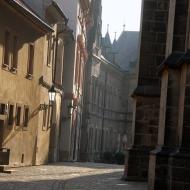 Behind St. Vitus Cathedral