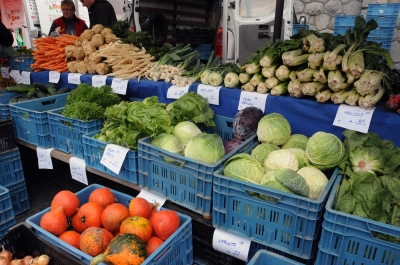 Farmers' markets won't have autumn vegetables, but they'll still have plenty of goodies.