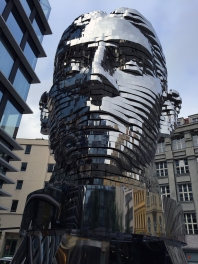 Kafka is 10 meters tall and its 42 layers rotate at 6 mph.