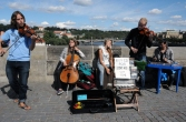 Will Electric Shock still be playing on Charles Bridge?