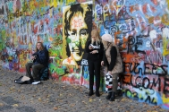 Lennon Wall will still drawmusicians and tourists, who leave behind messages of peace and unity.