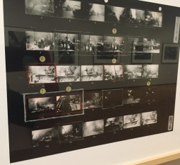 A contact sheet from Koudelka's 1968 Prague invasion shots.