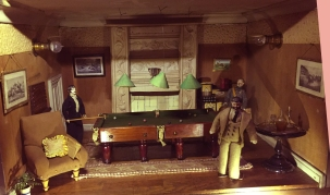 A man's refuge in the Victorian Era, this home even has a billiards room.